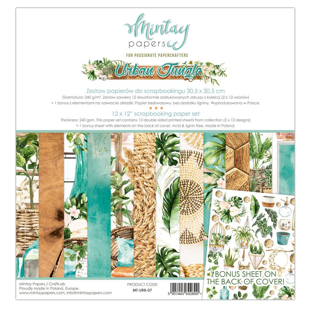 Mintay Paperpad 30.5x30.5 Urban jungle