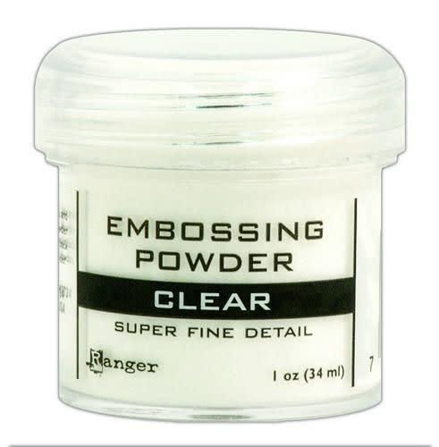 Ranger Embossing powder super fine clear