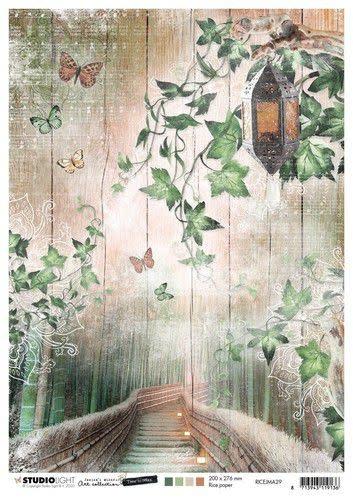Studio Light Studio Light Rice Paper A4 vel Jenine's Mindful Art 5.0 nr.29
