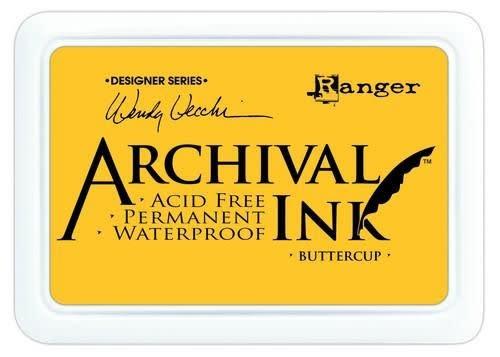 Ranger Ranger Archival Ink pad - buttercup