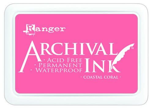 Ranger Ranger Archival Ink pad - Coastal Coral