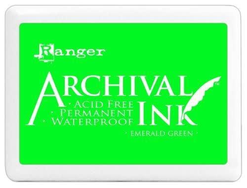 Ranger Ranger Archival Ink pad - emerald green