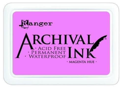 Ranger Ranger Archival Ink pad - magenta hue