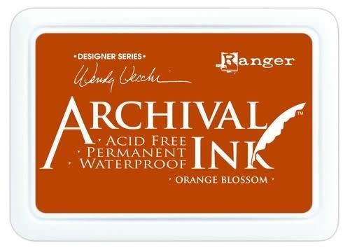 Ranger Ranger Archival Ink pad - orange blossom