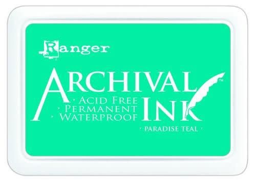 Ranger Ranger Archival Ink pad - paradise teal