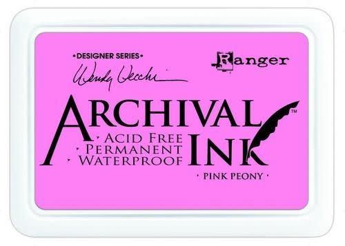 Ranger Ranger Archival Ink pad - pink peony