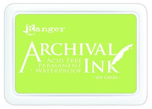Ranger Ranger Archival Ink pad - sea grass