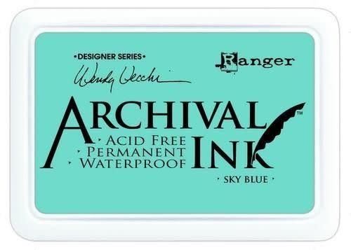 Ranger Ranger Archival Ink pad - sky blue