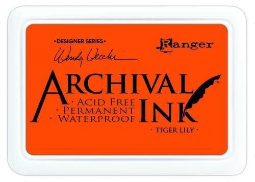 Ranger Ranger Archival Ink pad - tiger lily