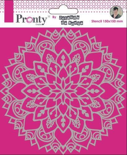 Pronty Pronty Mask Mandala 3 15x15