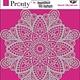 Pronty Pronty Mask Mandala 4 15x15