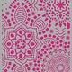 Pronty Pronty Mask stencil Mandala background A4