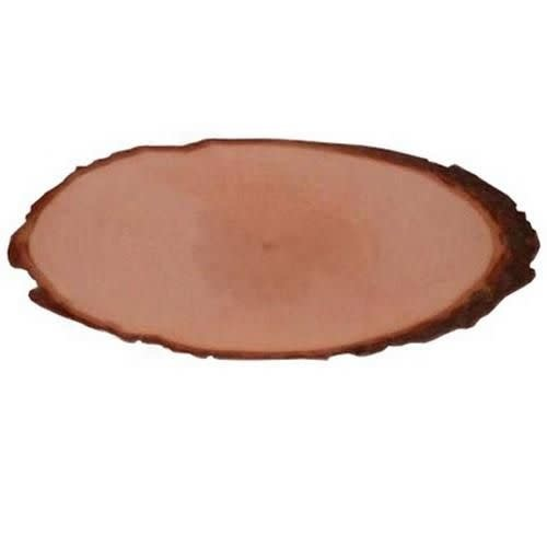 CraftEmotions Boomschorsschijf rond diameter 19-20 cm