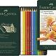 Faber Castell kleurpotlood Polychromos 3,8mm kerndikte etui à 12 stuks