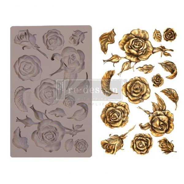 Prima Marketing Fragrant Roses 5x8 Inch Mould (644901)