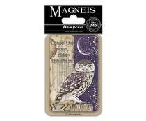 Stamperia Owl 8x5.5cm Magnet (EMAG028)