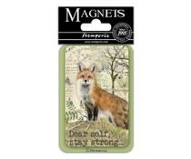Stamperia Fox 8x5.5cm Magnet (EMAG017)