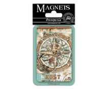 Stamperia Compass 8x5.5cm Magnet (EMAG045)