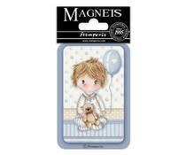 Stamperia Baby Boy Balloon 8x5.5cm Magnet (EMAG042)