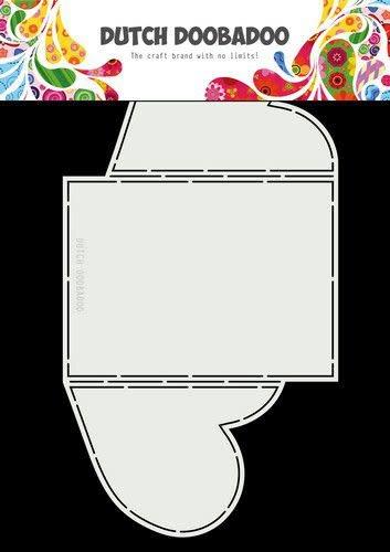 Dutch Doobadoo Dutch Doobadoo Card Art A4 Harten