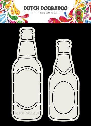 Dutch Doobadoo Dutch Doobadoo Card Art Bierflesjes A5