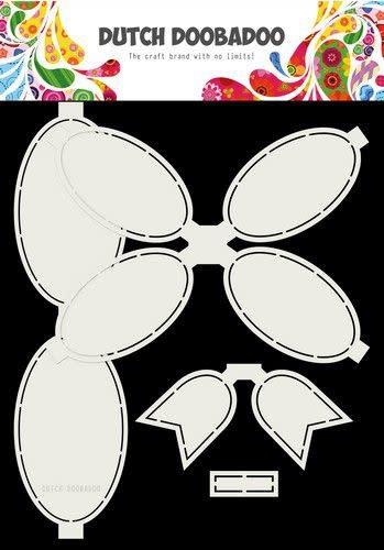 Dutch Doobadoo Dutch Doobadoo Card Art Strik 4pc A4