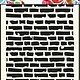 Dutch Doobadoo Dutch Doobadoo Dutch Mask Art stencil bricks - A5