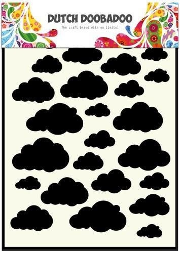 Dutch Doobadoo Dutch Doobadoo Dutch Shape Art Cloud A5
