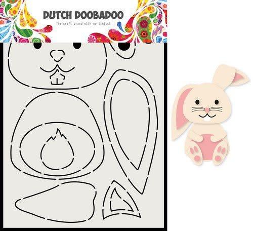 Dutch Doobadoo Dutch Doobadoo Build up  bunny a5