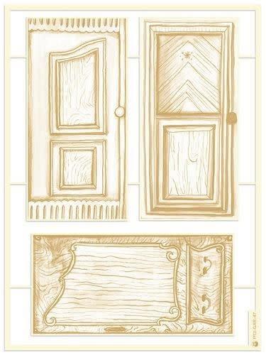 Piatek 13 Piatek13 - Chipboard embellishments Garden of Books 05
