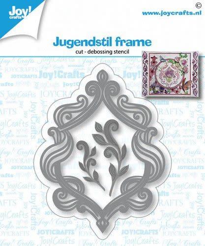 Joy!Crafts Joy! Crafts Snij-debosstencil - Jugendstil frame