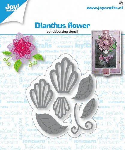 Joy!Crafts Joy! Crafts Snij-debosstencil - Dianthus bloem