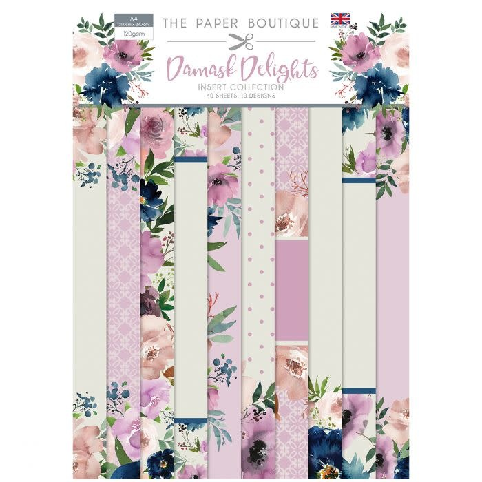 Paper boutique Paper Boutique • Damask delights insert collection