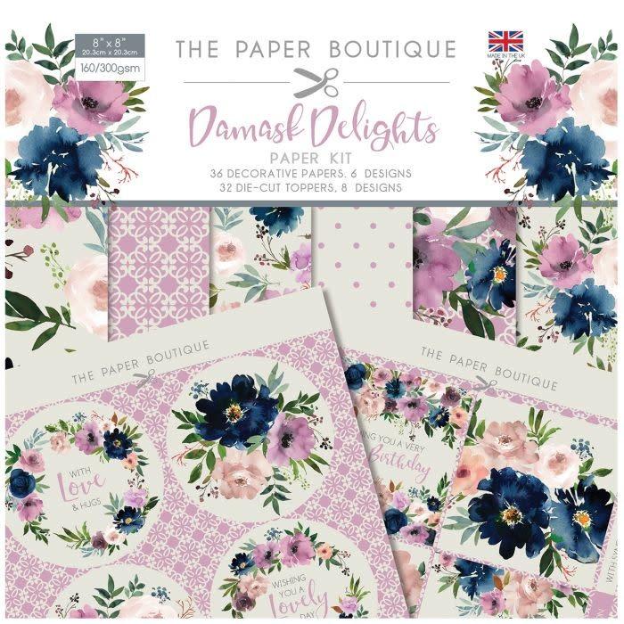 Paper boutique Paper Boutique • Damask delights paper kit