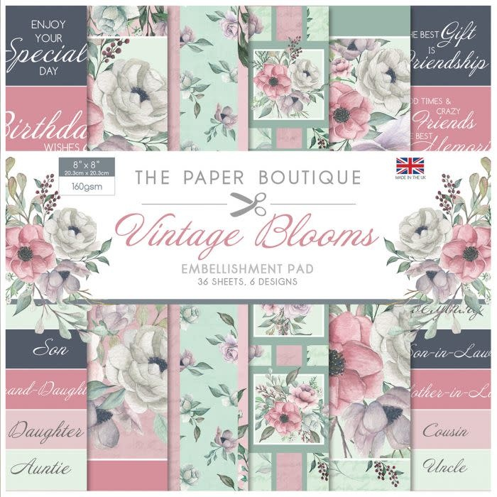 Paper boutique Paper Boutique • Embellishments pad Vintage vlooms
