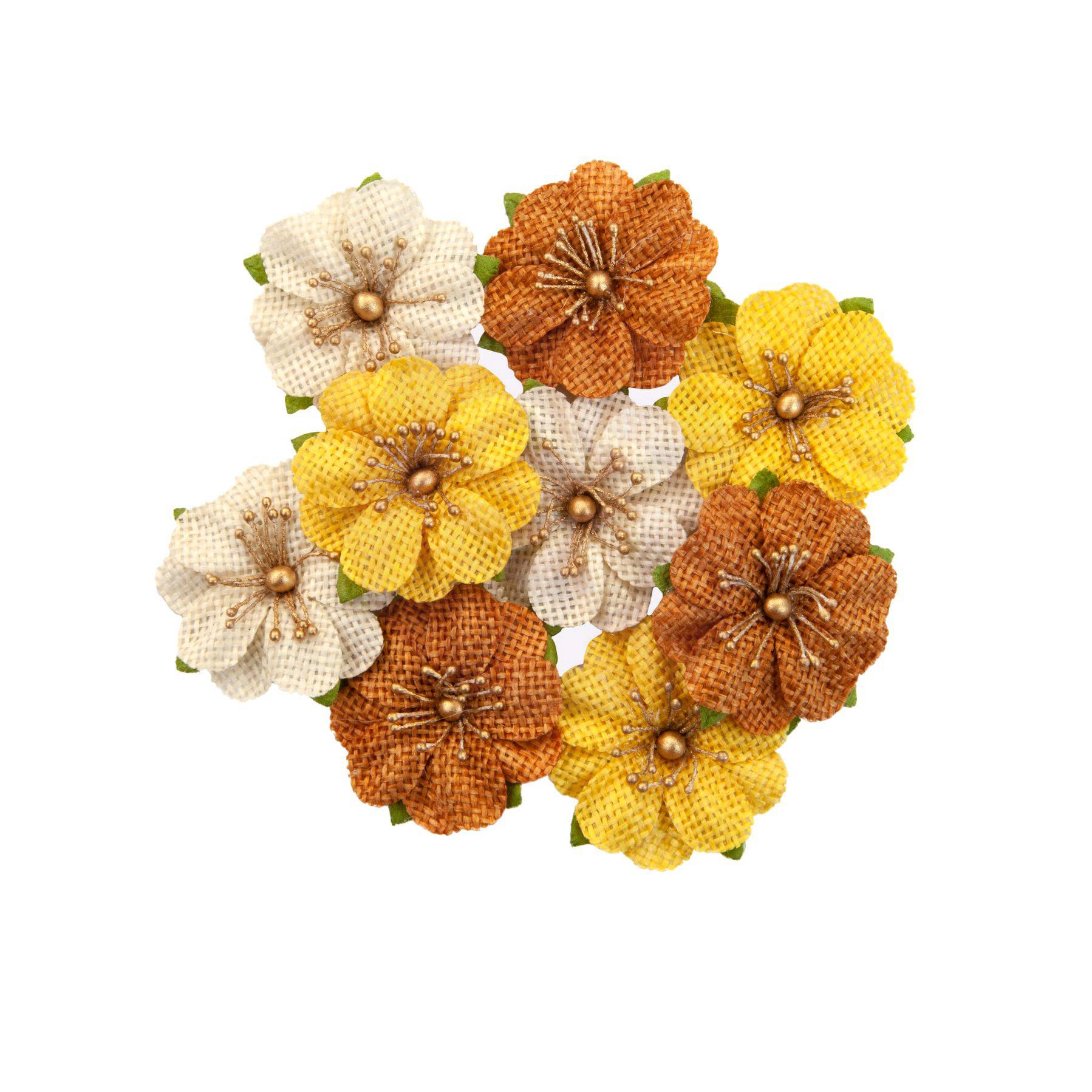 Prima Marketing Autumn Sunset Flowers Haystack (642761)