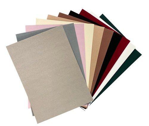 Joy!Crafts Joy! Crafts Fluweel Papier zelfklevend Natuur kleuren 10vl