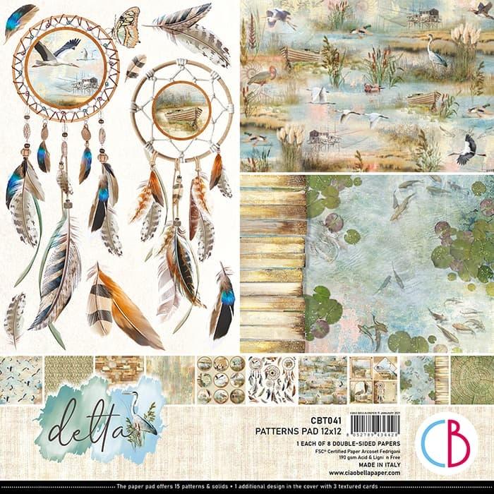 Ciao Bella Ciao Bella Delta patterns pad 30.5x30.5 CBT041