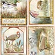 Ciao Bella Ciao Bella ricepaper a4 Delta Postcards CBRP158