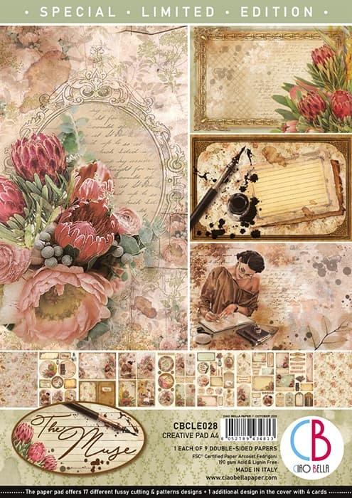Ciao Bella Ciao Bella The Muze creative pad a4 CBCLE028