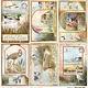 Ciao Bella Ciao Bella Delta postcards paper sheet 30.5x30.5 CBSS140