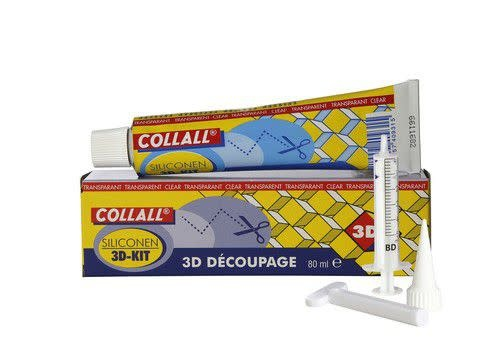 Collall Collall 3D kit tube SET 80 ML