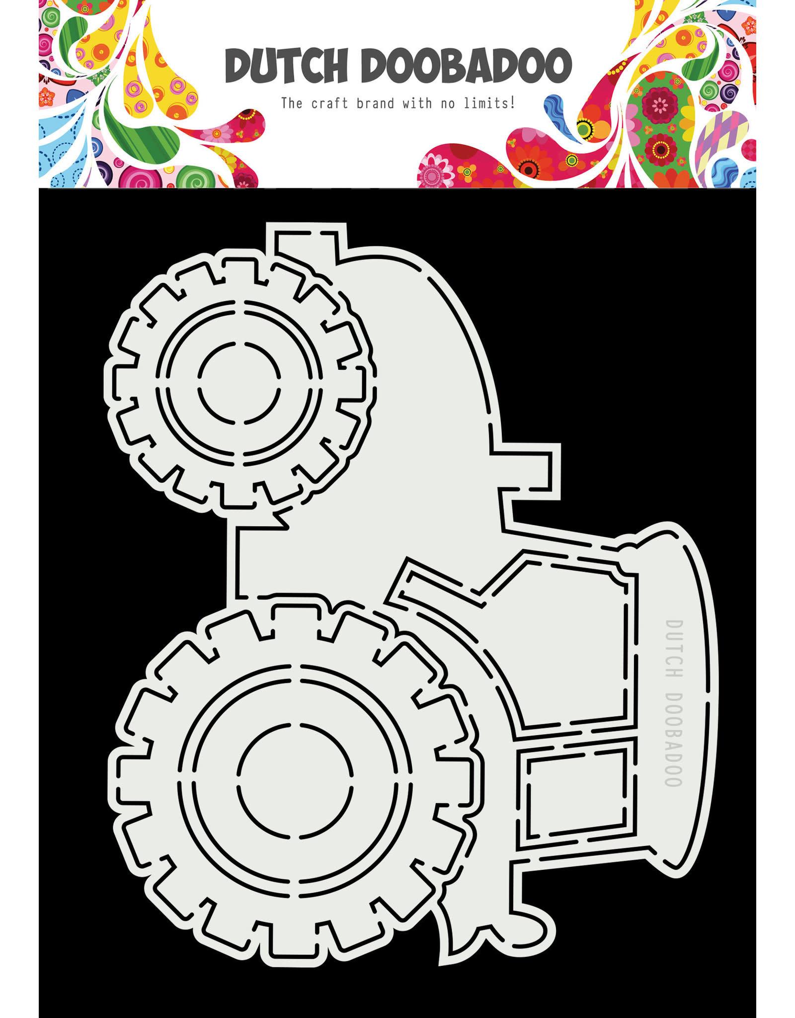 Dutch Doobadoo Dutch Doobadoo card art a5 tractor