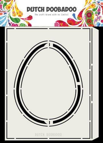 Dutch Doobadoo Dutch Doobadoo Card Art Accordeon Ei A5