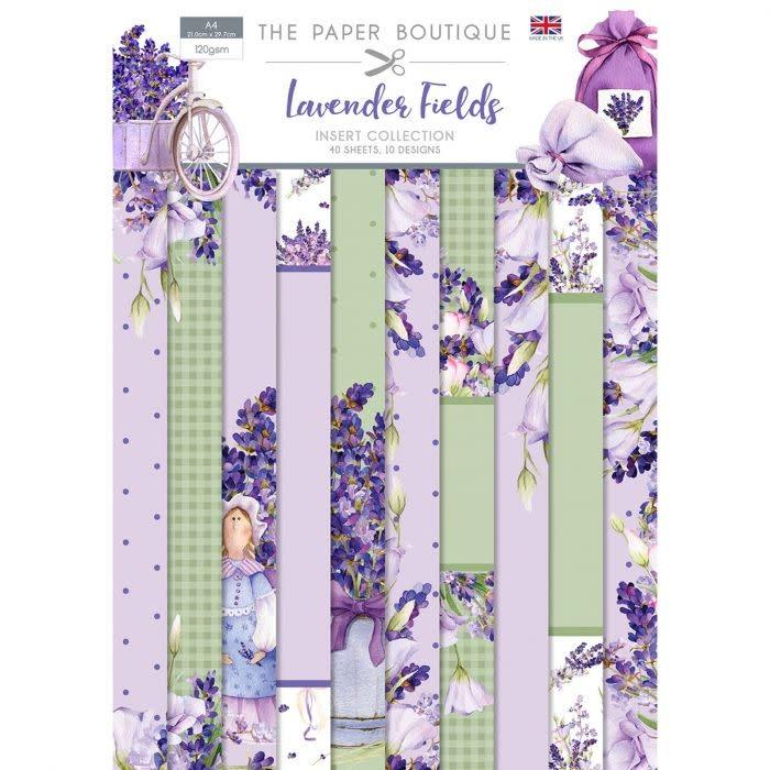 Paper boutique Paper Boutique  Lavender fields Insert Collection