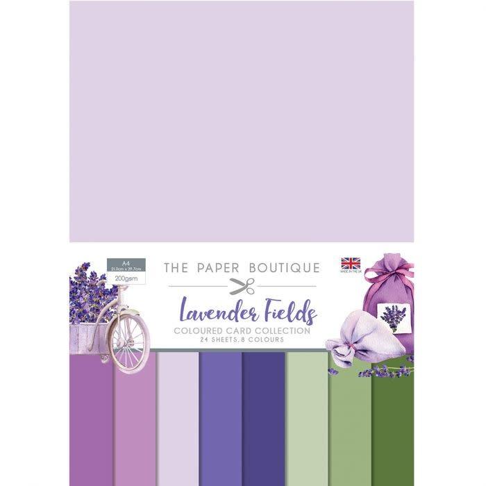 Paper boutique Paper Boutique  Lavender fields Colour card collection