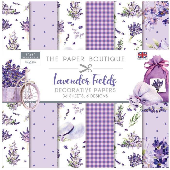 Paper boutique Paper Boutique  Lavender fields 6x6 Paper pad
