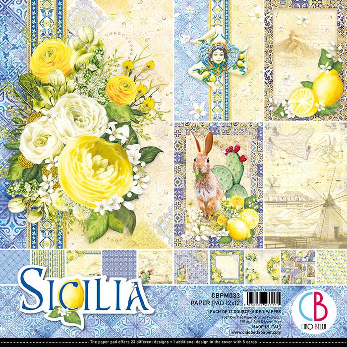 Ciao Bella Ciao Bella Papercrafting Sicilia 30.5x30.5 CBPM033