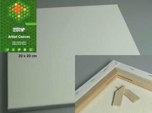 CraftEmotions Canvasdoek 20x20CM 1,7 cm
