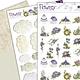 precious Marieke 3D SET - Precious Marieke - Flowery - Minis & Labels